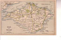 Cart. Colori   Isle Of  Wight(  R.Unito) - Inghilterra