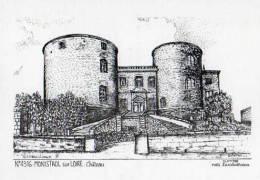 43 MONISTROL SUR LOIRE Chateau, Illustrateur Ducourtioux 1988 - Monistrol Sur Loire