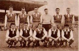 STRASBOURG Football  1955 - Unclassified