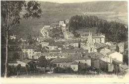 07/CPA - La Louvesc - Vue Générale Et Montée De La Fontaine St Régis - La Louvesc