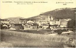07/CPA - La Louvesc - Vue Générale Occidentale Et Route De St Bonnet - La Louvesc