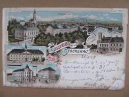 AK STOCKERAU B. Korneuburg Litho 1898  //  D*6607 - Stockerau