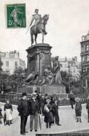 Lille.le Monument Du General Faidherbe - Lille