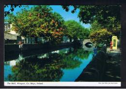 RB 917 - John Hinde Postcard - The Mall - County Mayo Ireland Eire - Telephone Box - Mayo