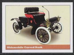 Oldmobile Curved Dash Sticker - Size:70x50 Mm. Aprox. - Collection Of Vintage Cars - Otros