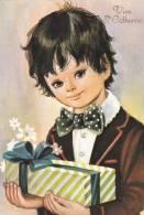Sainte Catherine - Garçon Avec Un Cadeau - Feiern & Feste