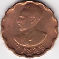 @Y@    Ethiopië  25 Cent  ????      Unc   RED BROWN   (C623) - Ethiopia