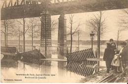Paris - Inondations De 1910