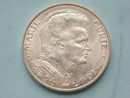 1984 - 100 Francs MARIE CURIE / KM 955 ( Uncleaned - For Grade, Please See Photo ) ! - Francia