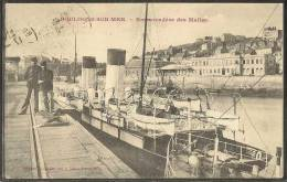 - CPA 62 - Boulogne-sur-Mer, Embarcadère Des Malles - Boulogne Sur Mer