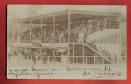N571  RARE : Stade Hippique Stadio Ippico Pferderennen, Carte-Photo, Pioneer, Caracas In 1900 Per Alemania. - Venezuela