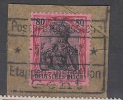 BELGIUM USED OC 35 SUR FRAGMENT - [OC26/37] Etappengeb.