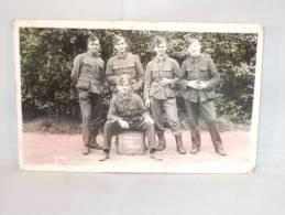 Photo Carte. Mitrailleurs Campagne Martyr - Krieg, Militär