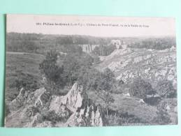 PIELAN LE GRAND - Chateau Du Pont Musard, Vu De La Vallée De Roca - France