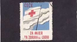 CINDERELLAS RED CROS - Tsjechoslowakije