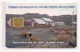 TAAF36A  Port  Jeanne  D´ Arc  AVEC  Le  Logo Bull  NEUVE  TRES    RARE  !!! - TAAF - French Southern And Antarctic Lands