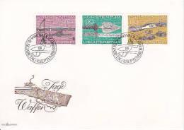 Liechtenstein FDC 1980 Mi.-Nr. 751-753 - FDC