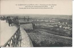 SAINT-GERMAIN-EN-LAYES: Panorama Pris De La Terrasse Vers Le Chemin De Fer Et Le Pecq - St. Germain En Laye (castle)