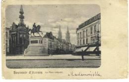 ANVERS - Souvenir D´Anvers - La Place Léopold. - Antwerpen