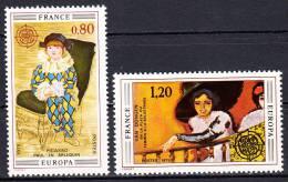 FRANCE  - 1975- Yvert  1840/1841 ** - Europa - Unused Stamps