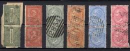 Italia Regno 1863  Sass.T14/17,T20,27 In Coppia / Pair Usati/Used VF/F - Usati