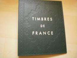 Reliure Seule Timbre De France  Occasion   Etat Tres Correct - Albums & Reliures
