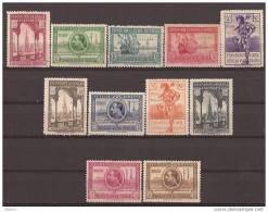 SHR25-2667TARIC.Maroc.Maroco SAHARA ESPAÑOLA EXPO SEVILLA BARCELONA.1929.(Ed 25/35**)sin Charnela.MAGNIFICA - Iglesias Y Catedrales