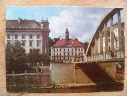 Post Card From Estonia, Tartu, USSR Period 1972 Year , Bridge - Estonie