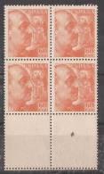 ES1054-LB058. España.Spain Espagne CID Y GENERAL FRANCO 1949/53.(Ed 1054**bl4) Sin Charnela - 1931-Hoy: 2ª República - ... Juan Carlos I