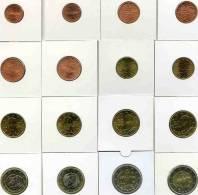 Grèce Greece KMS Série 1 Cent à 2 Euro 2002 UNC Avec Lettres FES - Greece