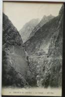 Algerie Chabet El Ahkra Le Tunnel ND N° 32 Voyagé 1912 Timbre Cachet Ambulant Constantine - Constantine