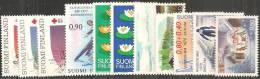 Finlandia 1977 Nuovo** - Mi. 799/804; 808; 810; 815/7 - Finlande