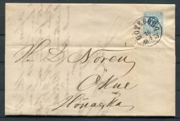 1873 Sweden 12 Ore Ring Type Goteborg - Okne Entire