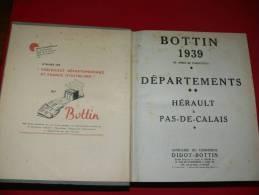 BLOIS VENDOME ROMORANTIN SELOMMES MER HERBAULT MARCHENOIR   EXTRAIT ANNUAIRE BOTTIN 1939 AVEC COMMERCES ET PARTICULIERS - Telephone Directories