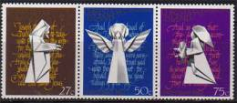 Ile Christmas.  Noel 1982.   Yv.  168/70  3 T-p Neufs **. - Christmas Island