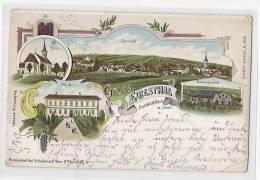 AK EIBESTHAL B. MISTELBACH Litho Ca.1900 //  D*6620 - Mistelbach