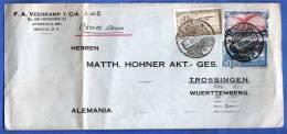 MEXICO 1933, Brief Von Mexiko > Deutschland, Seltene Schöne 3 Fach Frankatur ... - Mexiko