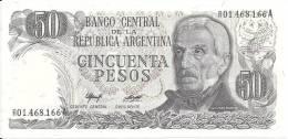 ARGENTINE 50 PESOS ND1976-78 UNC P 301 - Argentine