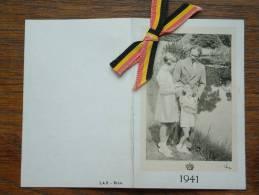 KONINKLIJKE FAMILIE 1941 L A B Bux.( Zie Foto's Voor Détails / Bic ! - Calendriers
