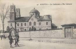 KKS 312 - / C P A   - ALBANIE - KORITZA  - LA CATHEDRALE - Albanie