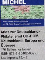 Atlas Der Philatelie-History 2013 New 79€ MlCHEL CD-Rom Zur Postgeschichte A-Z Nr.catalogue Of Germany 978-3-95402-039-3 - Collections
