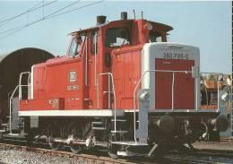 Diesel-Hydraulische Rangierlokomotive 360 785 Der DB In Ludwigshafen - Eisenbahnen