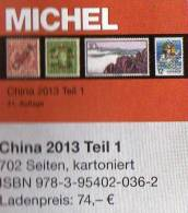 Michel CHINA Katalog 2013 New 74€ East-Asia Part 9/I Stamps Rep.of Ch Macao Hongkong Taiwan Tibet ISBN 978-3-95402-036-2 - Old Paper
