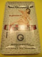 Cendrier publicitaire en plastique dur/ Pin'up/ Galvachaud SA/ Mitry-Mory/seine et marne/Vers 1960-1970   OBJ120