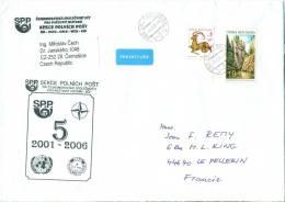 Tchequie République Tchèque Ceska 4 Oct 2006 Cernosice UN NATO OSCE SPP OTAN Lettre Cover - Tchéquie