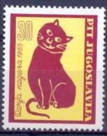 YU 1965-1133 CHILDREN WEEK, YUGOSLAVIA, 1 X 1v, MNH - Kind & Jugend