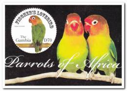 Gambia Postfris MNH Parrots - Gambia (1965-...)