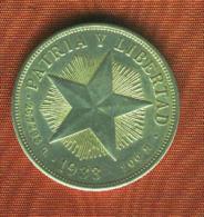 CUBA 1 Peso 1933.Silver/Argent/plata.900 M.  Km # 15.2  TTB.MBC.VF. - Kuba