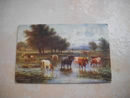 CPA Raphael TUCK The Meadow Stream Oilette - Tuck, Raphael
