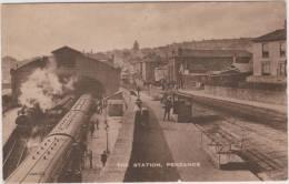 The Station, Penzance. Unused Card. Good Imaging. - Non Classificati